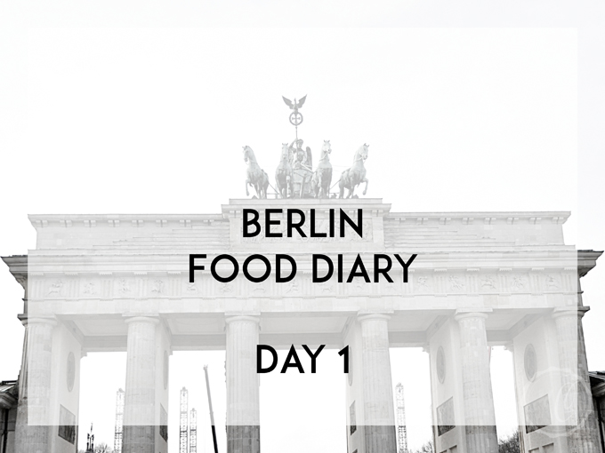 berlin food diary day 1 kathie 39 s cloud. Black Bedroom Furniture Sets. Home Design Ideas